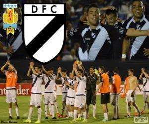Puzzle de Danubio FC, campeón de la primera división de fútbol de Uruguay 2013-2014