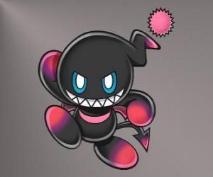 Puzzle de Dark Chao es la mascota malvada de los juegos de Sonic