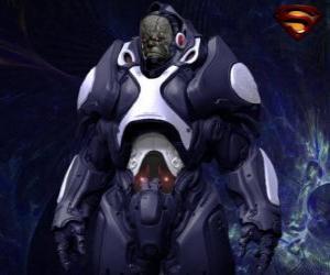 Puzzle de Darkseid, tirano de un mundo distante de dioses cósmicos llamado Apokolips.