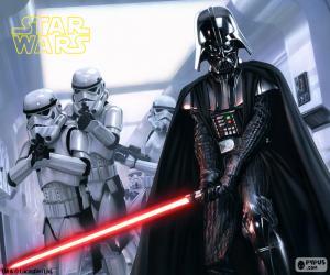 Puzzle de Darth Vader, Star Wars
