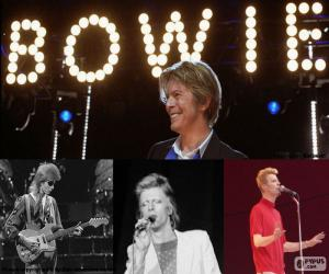 Puzzle de David Bowie (1947 - 2016)