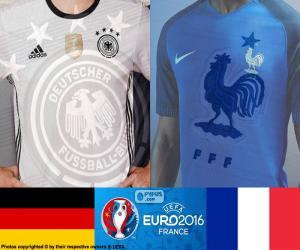 Puzzle de DE-FR semifinales Euro 2016