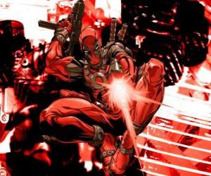 Puzzle de Deadpool o Masacre es un mercenario, un villano o un antihéroe