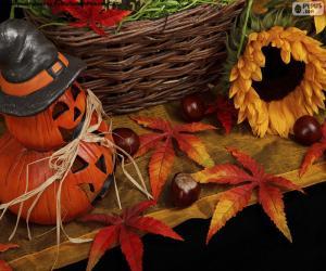 Puzzle de Decoración para Halloween