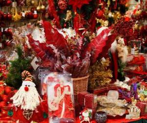 Puzzle de Decoraciones de Navidad