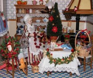 Juegos de puzzles de decoraci n navide a 2 - Mesas navidenas decoracion ...