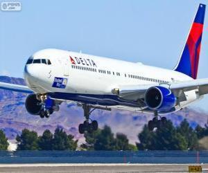 Puzzle de Delta Air Lines, aerolínea de Estados Unidos