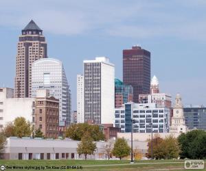 Puzzle de Des Moines, Estados Unidos