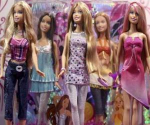 Puzzle de Desfile de Barbies