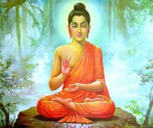 Puzzle de Dibujo de Buda Gautama
