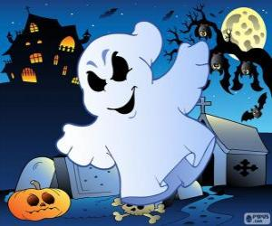 Puzzle de Dibujo de fantasma