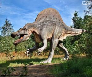Puzzle de Dinosaurio T-Rex