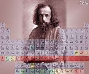 Puzzle de Dmitri Mendeléyev