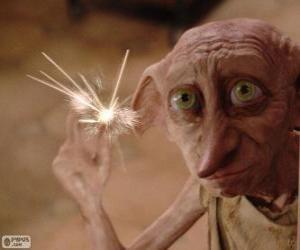 Puzzle de Dobby, un elfo doméstico de Harry Potter