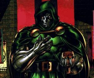 Puzzle de Doctor Doom o Doctor Muerte es un supervillano y enemigo de los Cuatro Fantásticos