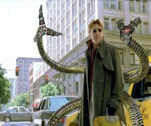 Puzzle de Doctor Octopus o Doctor Pulpo es un científico loco muy inteligente, uno de los mayores enemigos de Spiderman