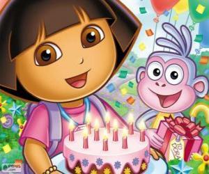 Puzzle de Dora la exploradora celebra su aniversario