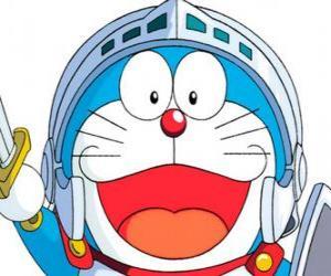Puzzle de Doraemon en una de sus aventuras