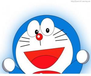 Puzzle de Doraemon es el amigo mágico de Nobita y protagonista de las aventuras