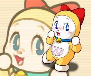 Puzzle de Dorami, Dorami-chan es la hermana pequeña de Doraemon