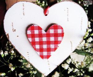 Puzzle de Dos corazones