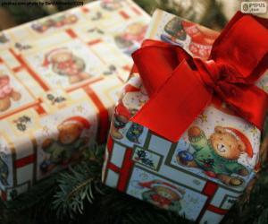 Puzzle de Dos regalos de navidad