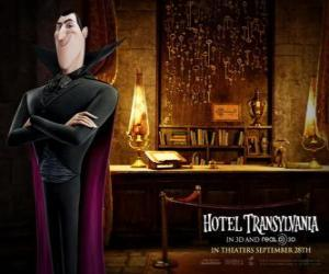 Puzzle de Drácula, el dueño del Hotel Transylvania