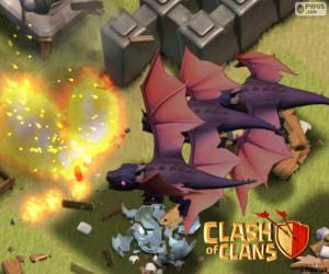 Puzzle de Dragones 2, Clash of Clans