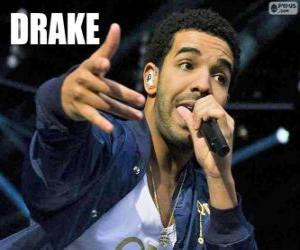 Puzzle de Drake, rapero canadiense