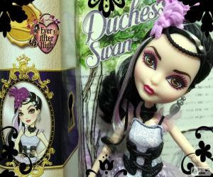 Puzzle de Duchess Swan Ever AfterHigh