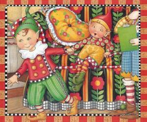 Puzzle de Duendes de Navidad