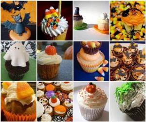 Puzzle de dulces para Halloween