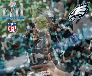 Puzzle de Eagles, Super Bowl 2018