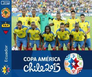 Puzzle de Ecuador Copa América 2015