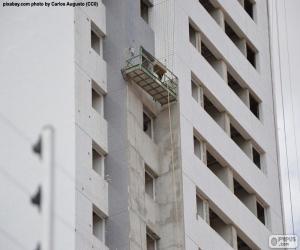 Puzzle de Edificio en construcción