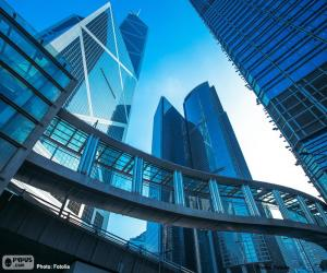 Puzzle de Edificio oficinas Hong Kong
