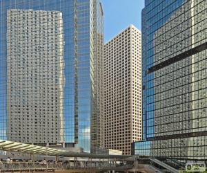 Puzzle de Edificios Hong Kong
