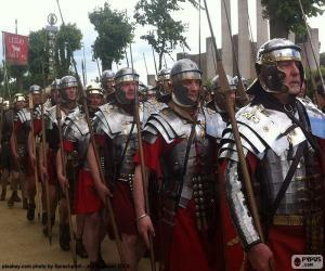 Puzzle de Ejército romano