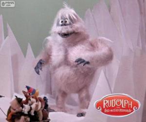 Puzzle de El abominable hombre de las nieves del norte