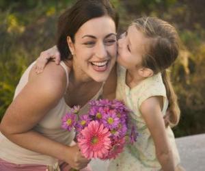 Puzzle de El amor de una hija por su madre