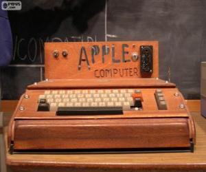 Puzzle de El Apple I fue uno de los primeros computadores personales (1976)
