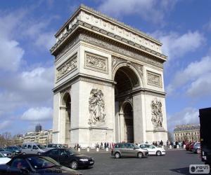 Puzzle de El Arco de Triunfo de París
