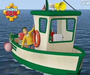 Puzzle de El barco de Charlie Jones