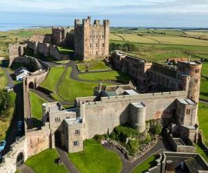 Puzzle de El Castillo de Bamburgh, Inglaterra