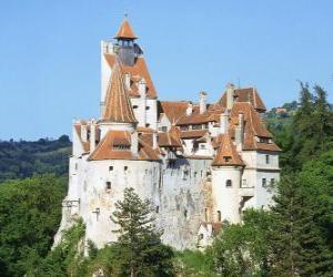 Puzzle de El castillo de Bran, Rumania