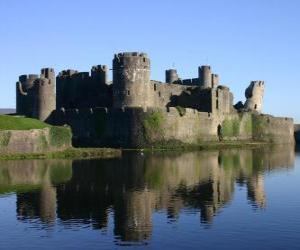 Puzzle de El Castillo de Caerphilly, Gales