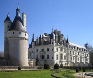 Puzzle de El castillo de Chenonceau, Francia
