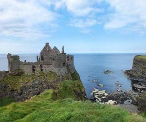 Puzzle de El Castillo de Dunluce, Irlanda del Norte