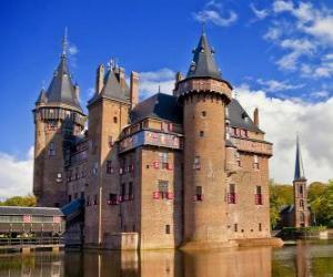 Puzzle de El Castillo de Haar, Países Bajos