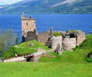 Puzzle de El Castillo de Urquhart, Escocia